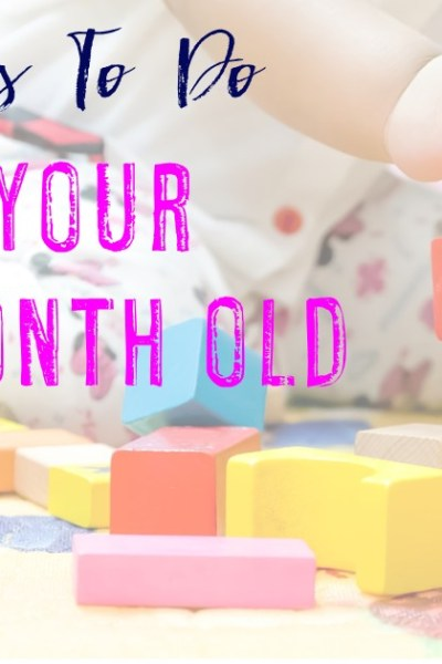 40+ Activities for Your 12-18 Month Old