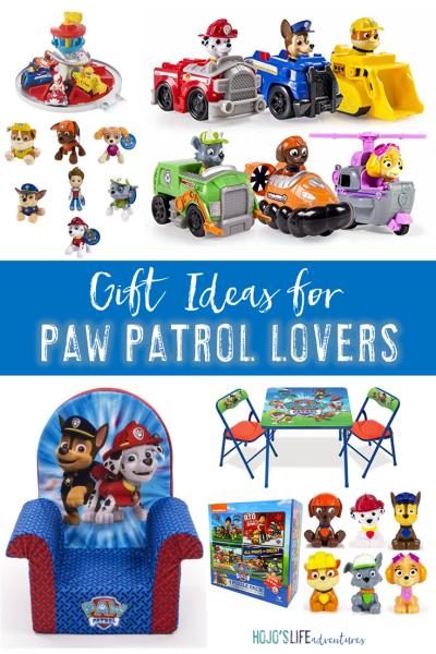 Paw Patrol Gift Ideas