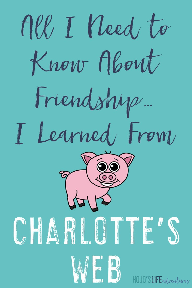 All I need to know about friendship I learned from Charlotte's Web. Can you relate? These quotes sure hit home for me. I will continue to strive to be a great friend and surround myself with amazing people!