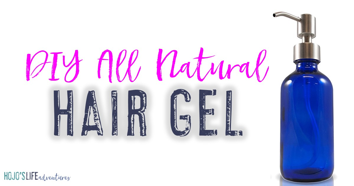 If you're on the lookout for an all natural hair gel that you can create in minutes in your own home, you'll love this one! With just a few ingredients, you'll have soft, touchable, manageable hair in no time! Click through to learn more.