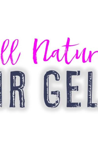 All Natural Hair Gel