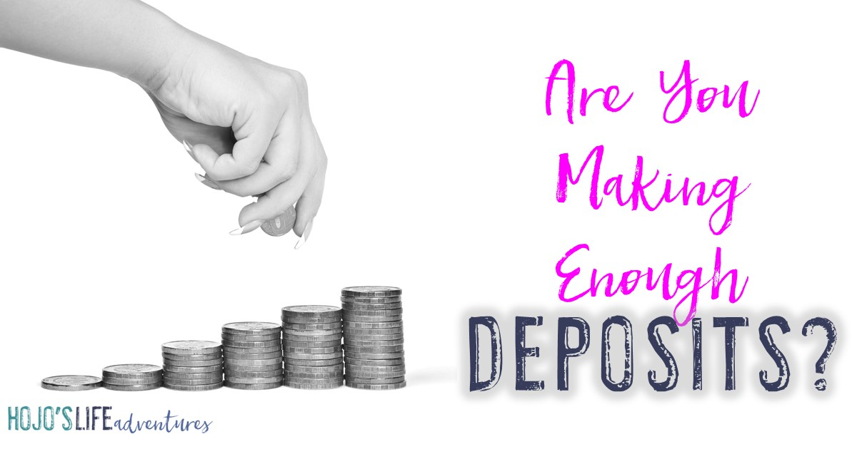 Are you making enough deposits in those you love? All too often people suck our energy and therefore hurt our relationships. Are you one of those people, or are you going to be one to make an impact in the world? Read this blog post and leave a comment on the post!