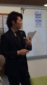 セミナー講師 篠田氏