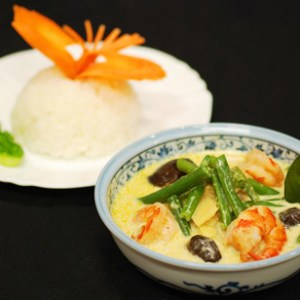 Freshly Frozen Thai Shrimp Curry