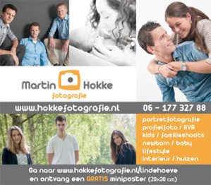 advertentie placemat Lindehoeve
