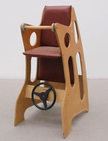 Wooden Hokus Pokus Highchair
