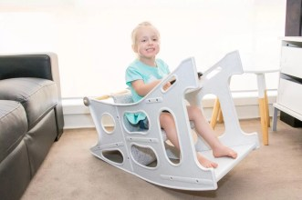High Chair Rocker Table - Hokus Pokus - 3 in 1 Highchair -