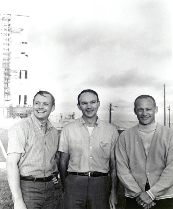 Neil A. Armstrong, Edwin E. Aldrin, y Michael Collins