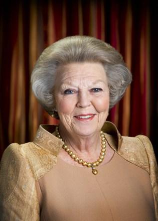 Reina Beatriz de Holanda.