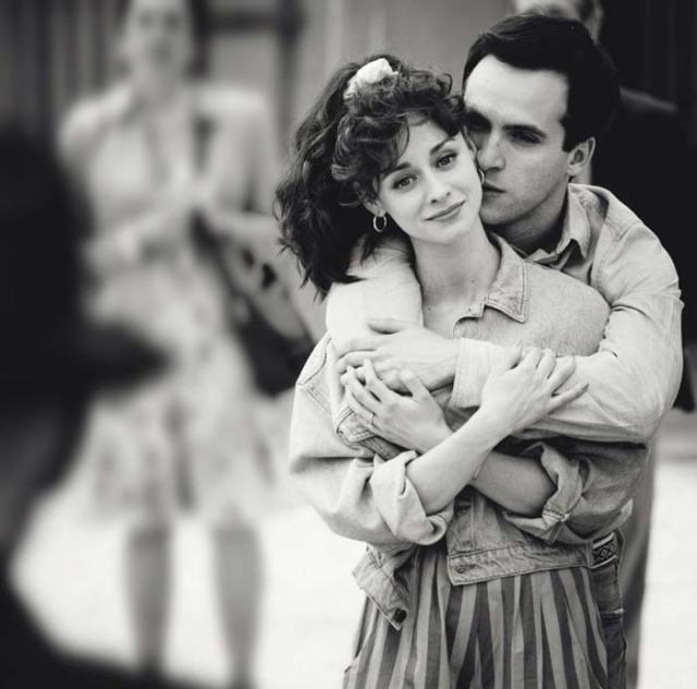 Elena Rivera y Ricardo Gómez en 'Cuéntame'