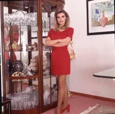 Una Joven Presentadora Llamada Terelu Campos Foto