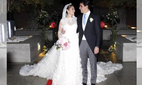La boda de Cristina de la Torre, hija del neurocirujano del rey Don Juan Carlos
