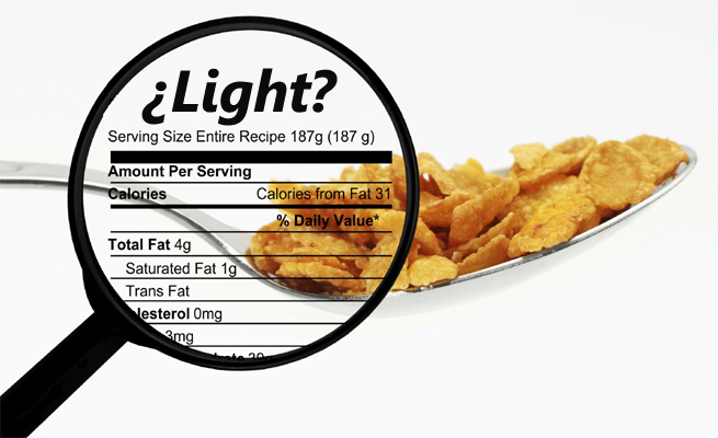 Image result for alimentos light