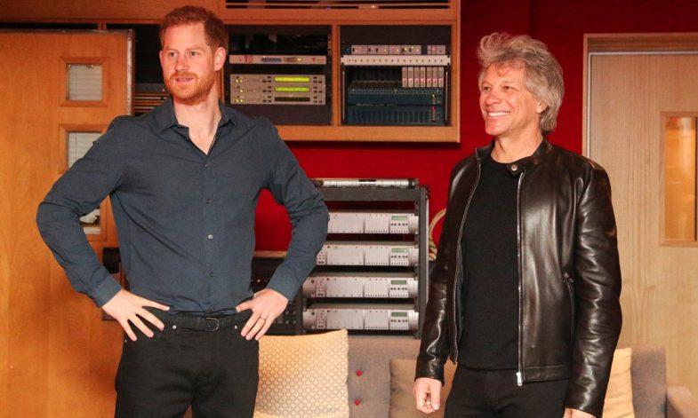 Bon Jovi confiesa quién canta mejor, si el príncipe Harry o el ...