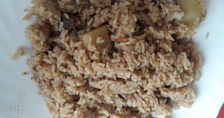 SWEET AND TASTY SWAHILI PILAU