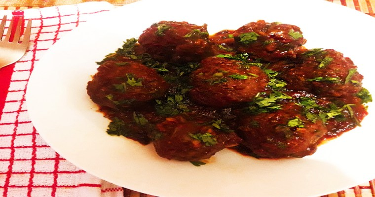 KENYAN BARBEQUE MEATBALLS RECIPE