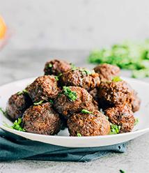 beefy-Sausage-Meatball BEEFY SAUSAGE MEATBALLS RECIPE