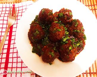 meatballs KENYAN BARBEQUE MEATBALLS RECIPE