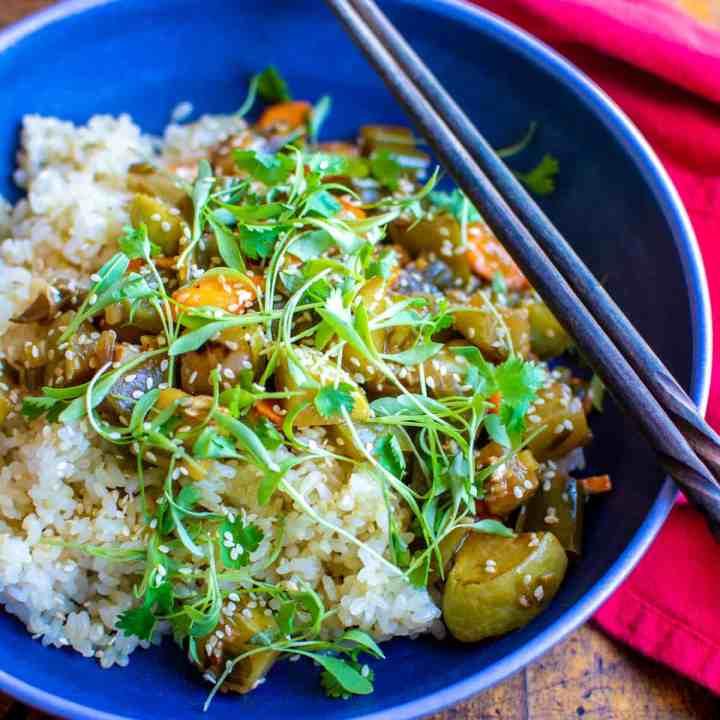 Lemon-Garlic Veggie Stir-Fry Recipe