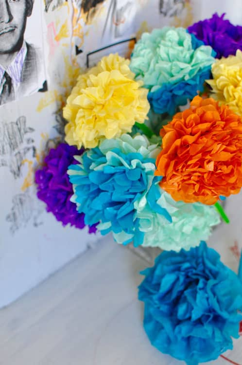 How To Make Paper Flowers For Day Of The Dead Hola Jalapeno Hola