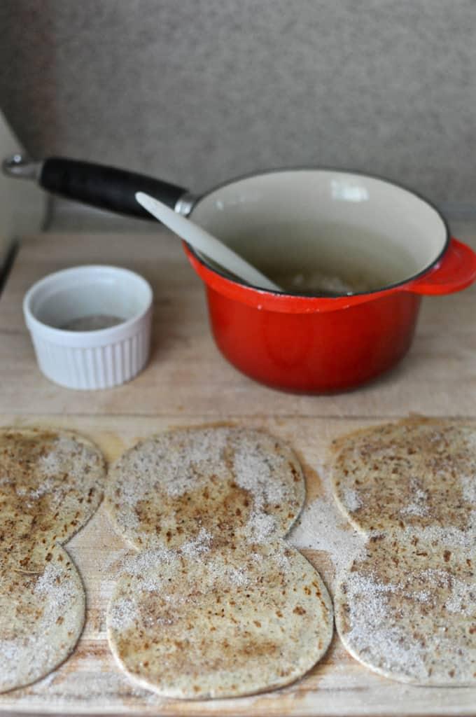 Chocolate Dipped Churros Ice Cream Sandwich Recipe