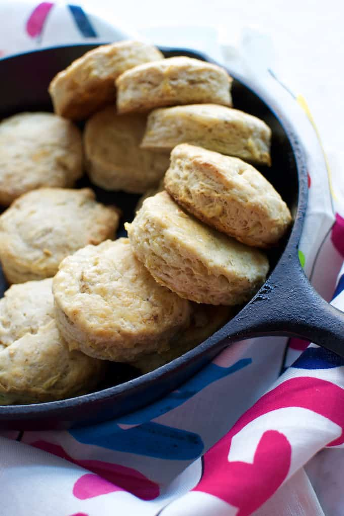 Apple Chili Biscuits Recipe {Dairy Free}