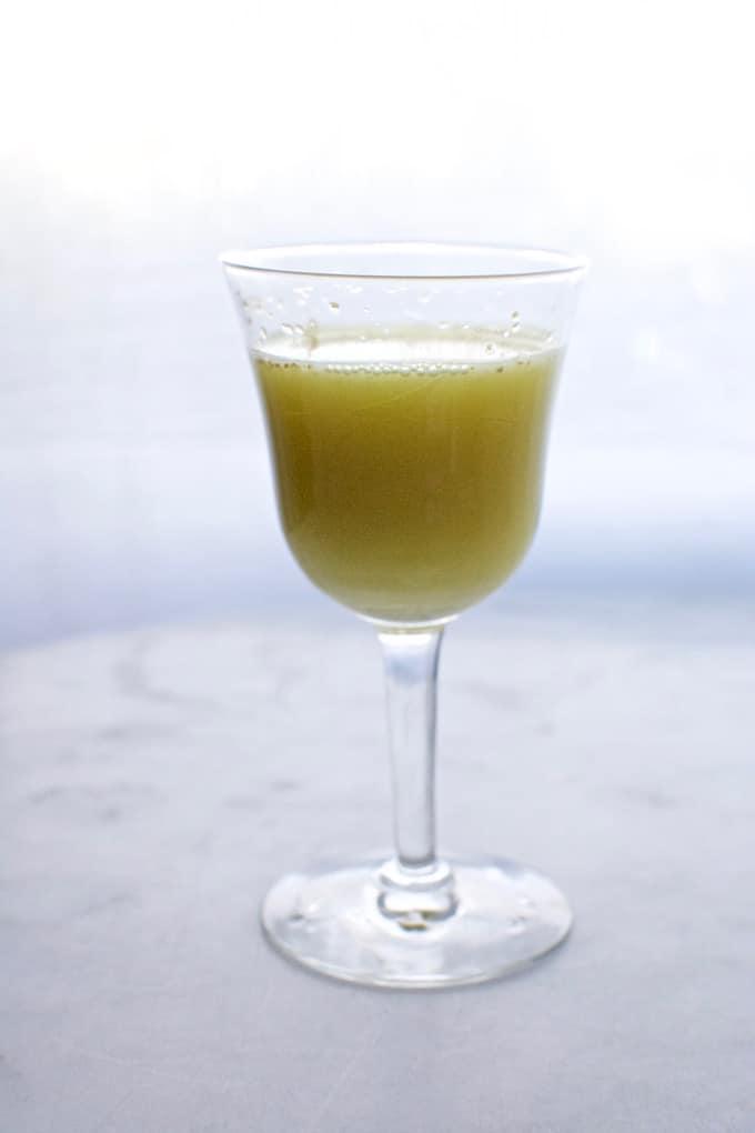 Brandy Ginger Twist Cocktail