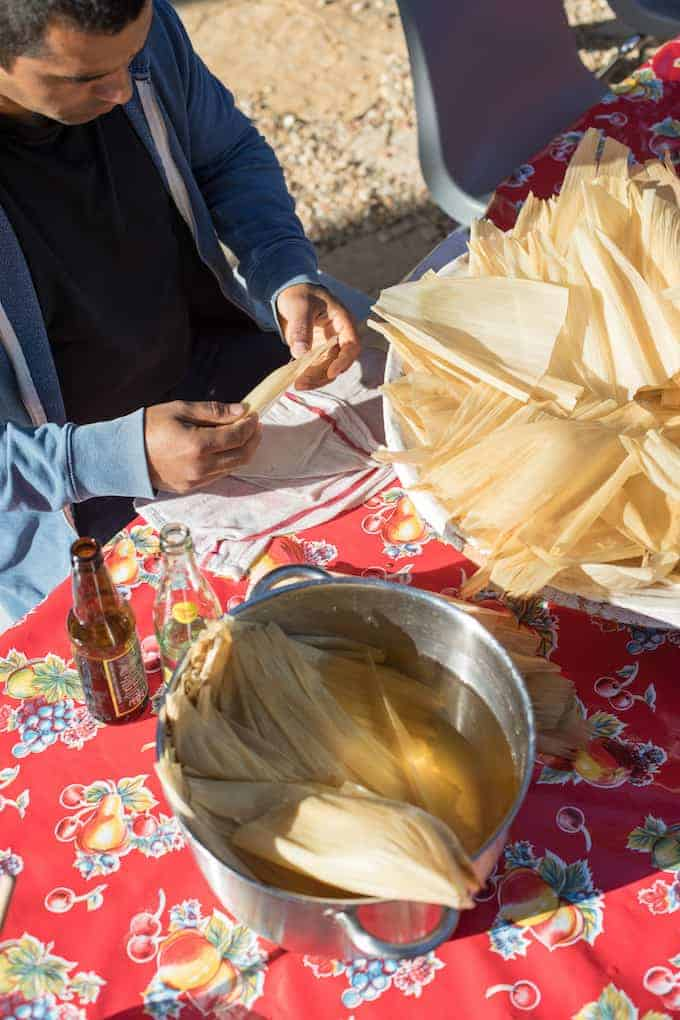 Large leaves of corn husks from field corn are used to wrap tamales and are unique to the Mexican pantry. See what other ingredients are special to this type of cooking. #mexicanfood #mexicanrecipes #mexican #cornhusks