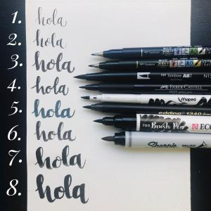rotuladores para lettering