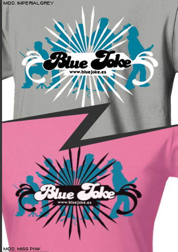 Camisetas Blue Joke