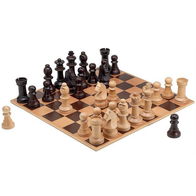 CS2 Wooden Chess Game Set Small