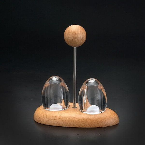EG-11 Salt And Pepper Shaker Set With Stand