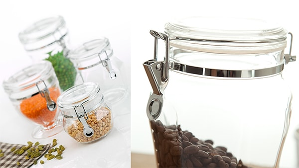 Holar - Blog - Acrylic vs Glass Which Food Canister is Best - Durability Scratch-resistant Shatterproof Health