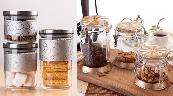 Holar - Blog - Acrylic vs Glass Which Food Canister is Best - Moldable Environmental-friendly Cost