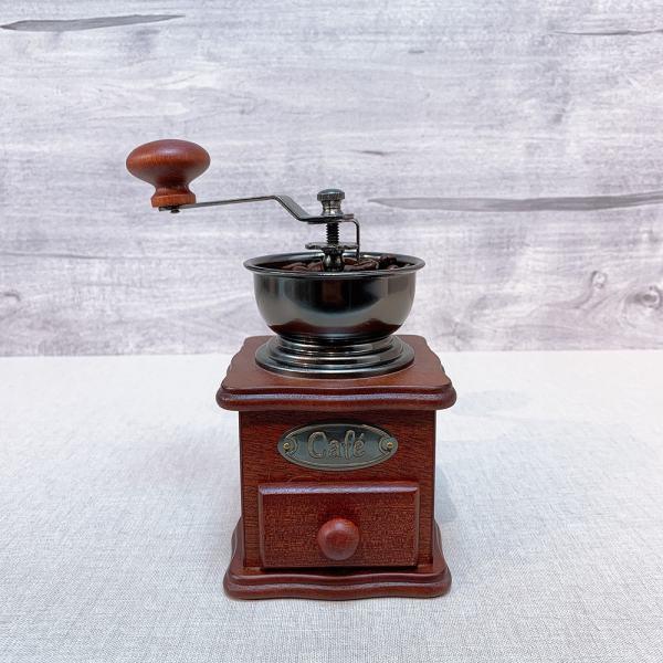 CM-8521 Hot-selling wood coffee grinder