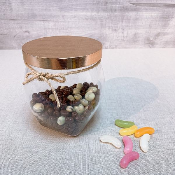 DY-100BRG Belly canisterforchocolate ball & jellybean