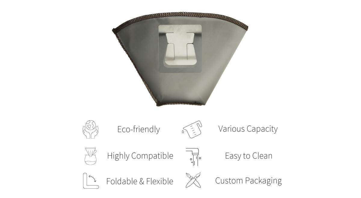Features of Holar reusable coffee filter with ears-PS-DC06new