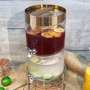 TA2-GD Stackable Beverage Drink Dispenser