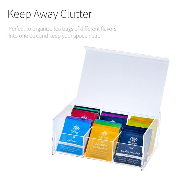 Holar AZ-27 tea bag storage box-1
