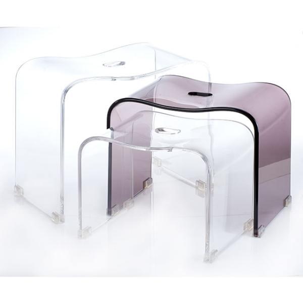 Holar - Bathroom - Acrylic Shower Bench Set