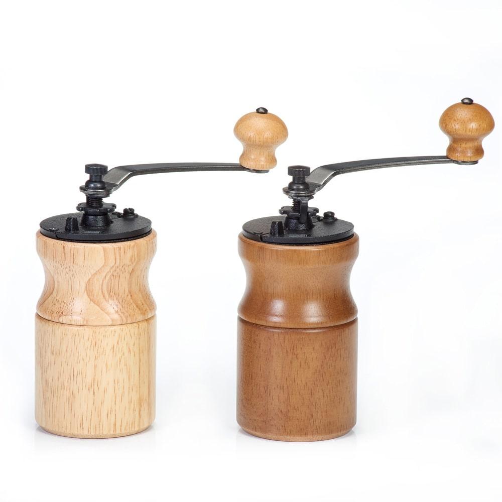 Holar CM-A18B A19B manual portable coffee grinder with hand crank