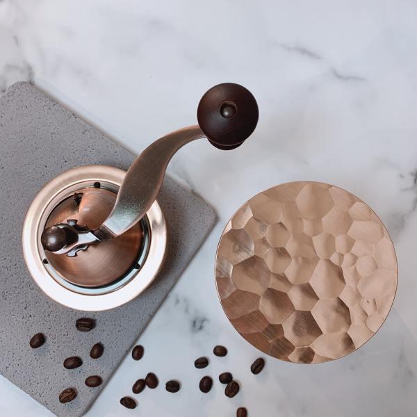 Holar CM-HK3RG-1 rose gold coffee grinder-5
