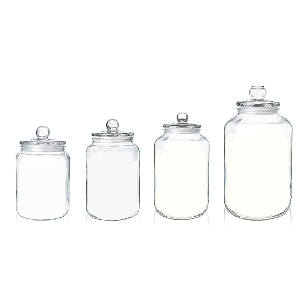 Holar - Canister Series - Glass Jars Canisters Containers with Airtight Lid