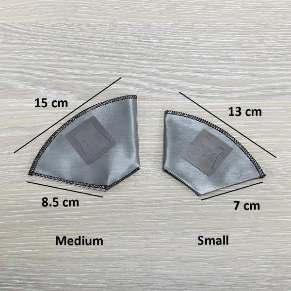 Holar - Coffee - Coffee Filter - PS-DC06 Reusable Foldable Stainless Steel Coffee Sector Dripper with Hanging Ear- 2_1
