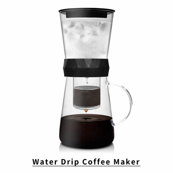 Holar - Coffee - PS-TDC02 2-in-1 Cold Brew and Water Drip Coffee Maker - 2