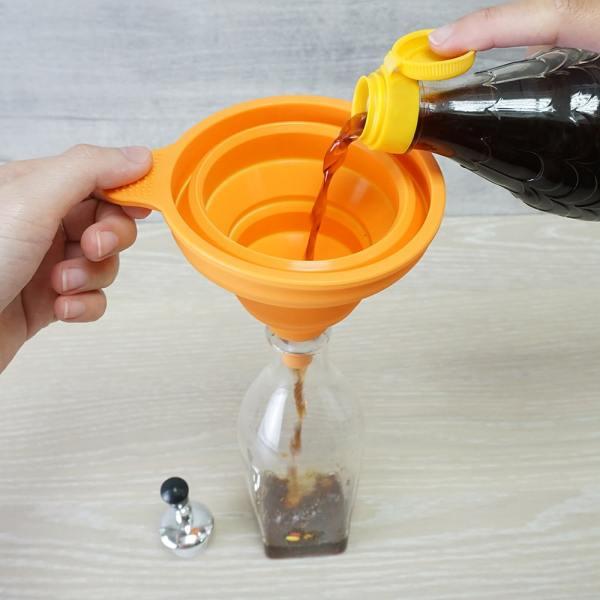 Holar Flexible Funnel For Oil Vinegar Water