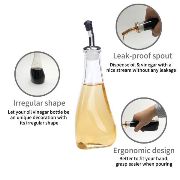 Holar HK-562 Irregular shaped oil and vinegar dispenser-info