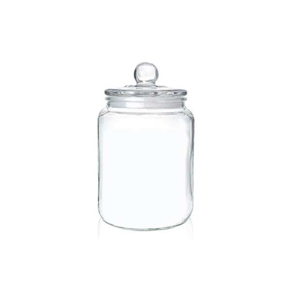 Holar - Kitchen Canister Series - Glass Jars Series - GCA-2L 2000 ml Glass Canister Container