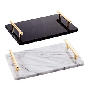 MB-42 Marble Tray with Handles