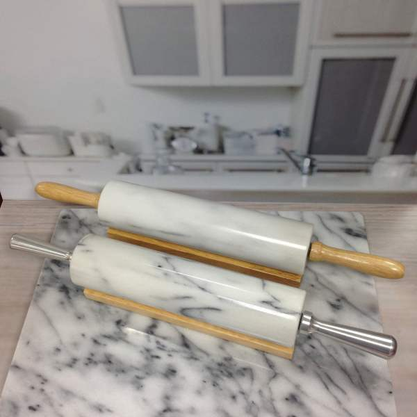 Holar RP-MB Marble Rolling Pin-1